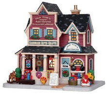 25392 - Old Town Artisans Gallery and Shop - Lemax Harvest Crossing Christmas Houses & Buildings
