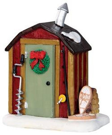 34614 - Ice Fishing Shack  - Lemax Christmas Village Misc. Accessories