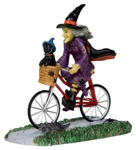 32109 - Be-Witching Bike Ride  - Lemax Spooky Town Halloween Village Figurines