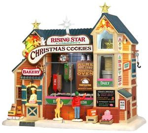 35557 - Rising Star Bakery, with 4.5v Adaptor  - Lemax Harvest Crossing Christmas Houses & Buildings