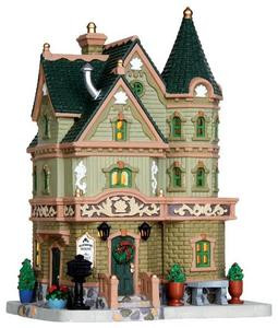 35520 - Weatherford House  - Lemax Plymouth Corners Christmas Houses & Buildings
