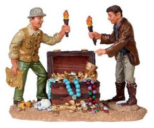02774 - Treasure Hunters - Lemax Spooky Town Figurines