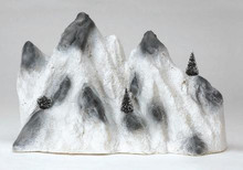 91021 -  Medium Ski Mountain Backdrop - Lemax Christmas Village Landscape Items