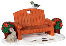 34627 - Garden Bench  - Lemax Christmas Village Misc. Accessories