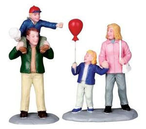 02796 - At the Carnival, Set of 2 -  Lemax Christmas Figurines