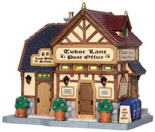 35519 - Tudor Lane Post Office  - Lemax Caddington Village Christmas Houses & Buildings