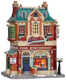 35581 - The Posh Paperweight  - Lemax Caddington Village Christmas Houses & Buildings