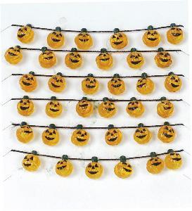 04527 -  Halloween Pumpkin Garland - Lemax Spooky Town Accessories