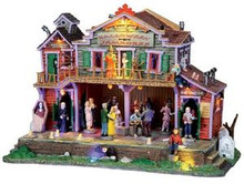 05011 - Halloween Jamboree, with 4.5v Adapt - Lemax Spooky Town Houses