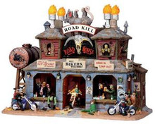 05012 - Road Kill Roadhouse, with 4.5v Adaptor - Lemax Spooky Town Houses