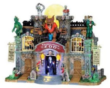 05041 - Transylvania Zoo, with 4.5v Adaptor - Lemax Spooky Town Houses