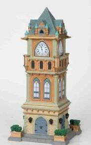 05007 - Municipal Clock Tower - Lemax Caddington Village