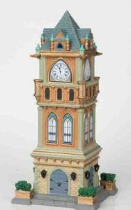 05007 - Municipal Clock Tower - Lemax Caddington Village