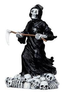 12890 - Deadly Grim Reaper - Lemax Spooky Town Halloween Village Figurines