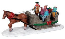 13912 - Sleigh Ride - Lemax Christmas Village Table Pieces