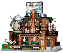 05073 - Yulesteiner Brewery, with 4.5v Adaptor - Lemax Caddington Village