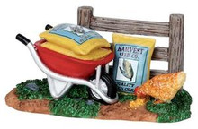 14352 - Seed Bags - Lemax Christmas Village Misc. Accessories