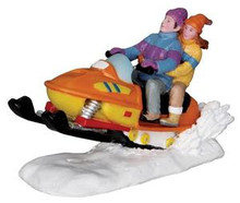 22055 - Out for A Spin  - Lemax Christmas Village Figurines