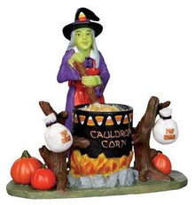 22009 - Cauldron Corn  - Lemax Spooky Town Halloween Village Figurines