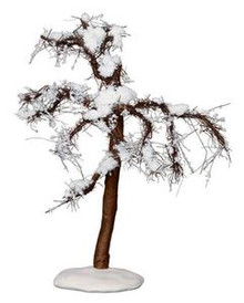14375 - Winter Cypress Tree, Medium - Lemax Christmas Village Trees