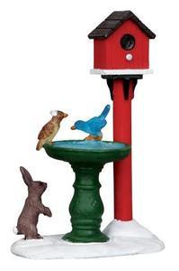 14355 - Deer Fountain - Lemax Christmas Village Misc. Accessories