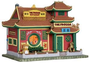 25373 - The Pagoda Restaurant  - Lemax Caddington Village Christmas Houses & Buildings
