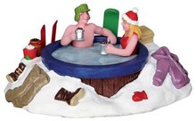23963 - Jacuzzi  - Lemax Christmas Village Table Pieces