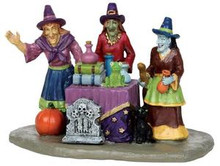 23950 - Potion Time  - Lemax Spooky Town Halloween Village Accessories