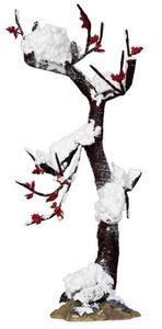 24522 - Winter Oak Tree, Large - Lemax Christmas Village Trees