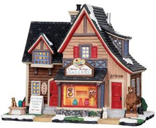 25377 - Blue Ridge Gallery  - Lemax Vail Village Christmas Houses & Buildings