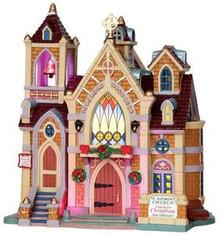 25412 - Carols for Christmas, with 4.5v Adaptor  - Lemax Caddington Village Christmas Houses & Buildings
