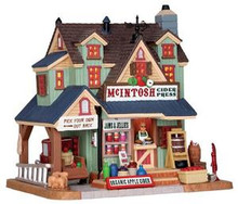 25391 - Mcintosh Cider Press  - Lemax Harvest Crossing Christmas Houses & Buildings