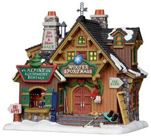 25369 - Winter Sport Haus  - Lemax Vail Village Christmas Houses & Buildings
