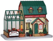 25380 - Rosa's Family Restaurant  - Lemax Harvest Crossing Christmas Houses & Buildings