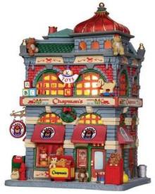 25371 - Chapman Toy Shop  - Lemax Caddington Village Christmas Houses & Buildings