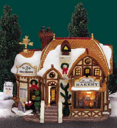 35793 -  Devaney's Bakery - Lemax Caddington Village Christmas Houses & Buildings