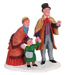 62297 -  It's Santa! - Lemax Christmas Village Figurines