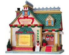 85653 -  Victorian Christmas Shoppe - Lemax Caddington Village Christmas Houses & Buildings