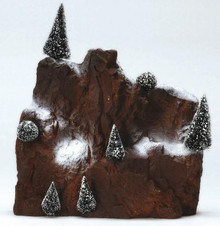 81013 -  Small Village Mountain Backdrop - Lemax Christmas Village Landscape Items