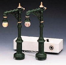"64120 -  4"" Victorian Street Lamp, Set of 2 - Lemax Christmas Village Misc. Accessories"
