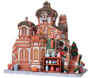 85679 - Polson's Pottery - Lemax Vail Village Christmas Houses & Buildings