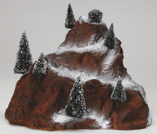 81017 -  Village Mountain - Lemax Christmas Village Landscape Items