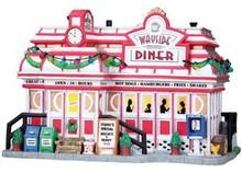 85683 - Wayside Diner - Lemax Harvest Crossing Christmas Houses & Buildings