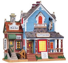 85705 -  Robin's Antique Shop - Lemax Plymouth Corners Christmas Houses & Buildings