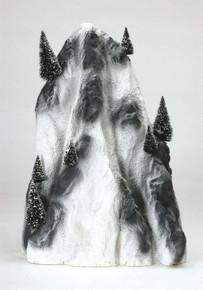 91025 -  Large Ski Mountain Backdrop - Lemax Christmas Village Landscape Items
