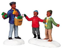 92625 -  Special Delivery, Set of 2 - Lemax Christmas Village Figurines