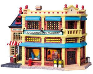 85718 - Richardson's Market - Lemax Harvest Crossing Christmas Houses & Buildings
