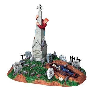 93722 -  Rat Attack - Lemax Spooky Town Halloween Village Accessories