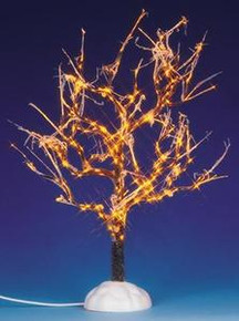 94994 - Lighted Ice Glazed Tree, Clear, Battery-Operated (4.5v) - Lemax Christmas Village Trees