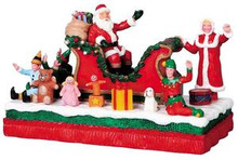 93768 - Santa Float - Lemax Carnival Series